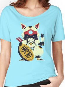 fortune pizza cat Women's Relaxed Fit T-Shirt