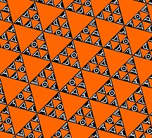 Max Ada Zoe tessellation (Triomino) by black-ink