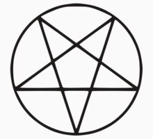 Satanic Black Pentagram by sailorlolita