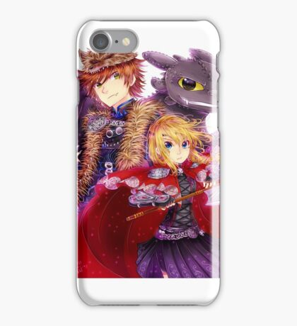 Httyd 2 - Red Riding AU iPhone Case/Skin