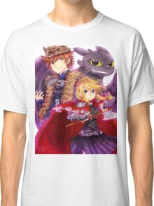 Httyd 2 - Red Riding AU Classic T-Shirt