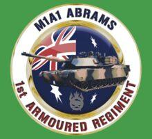 M1A1 Abrams Australia One Piece - Short Sleeve