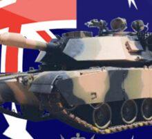 M1A1 Abrams Australia Sticker