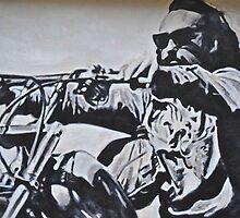 Dennis Hopper by Kaitlyn Mikayla