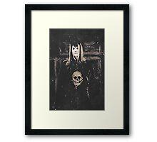 Gothic Motivational Framed Print