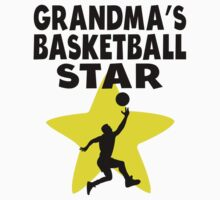 Grandma's Basketball Star Kids Tee