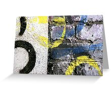 A CLOSER NY - 14TH STREET BRICK Greeting Card