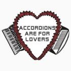 Flowered Accordion Bellows Heart by juliethebruce