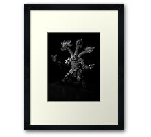 ©AS A NightMare IA Monochrome Framed Print