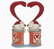 Canned Bunny Love One Piece - Long Sleeve