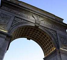 Arch in Washington Square Park by Amanda Vontobel Photography/Random Fandom Stuff