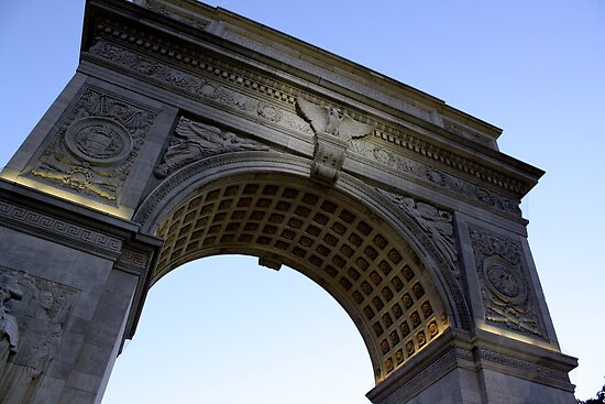 Arch in Washington Square Park by Amanda Vontobel Photography/Random Fandom Stuff