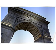Arch in Washington Square Park Poster