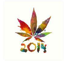 Legalize 2014! Art Print