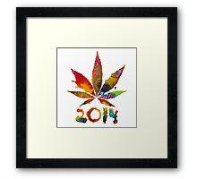 Legalize 2014! Framed Print