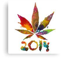 Legalize 2014! Canvas Print