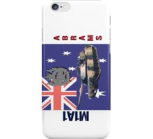 M1A1 Abrams Australia iPhone Case/Skin