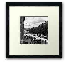 Salamanca Market Framed Print