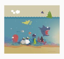 What's going on at the sea? Kids collection Kids Tee