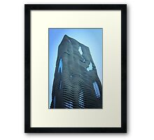 Blu Aqua Framed Print