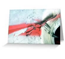 A CLOSER NY - BARRICADE RIBBON Greeting Card