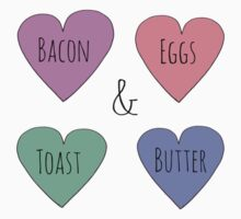 Bacon and Egg Love by Bundjum