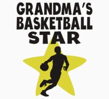 Grandma's Basketball Star One Piece - Long Sleeve