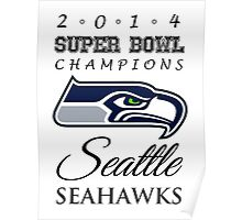 SEAHAWKS! Poster