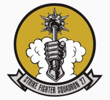 VFA-27 Royal Maces Patch Baby Tee
