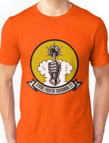 VFA-27 Royal Maces Patch Unisex T-Shirt