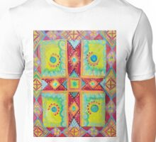Colourful Cross Unisex T-Shirt