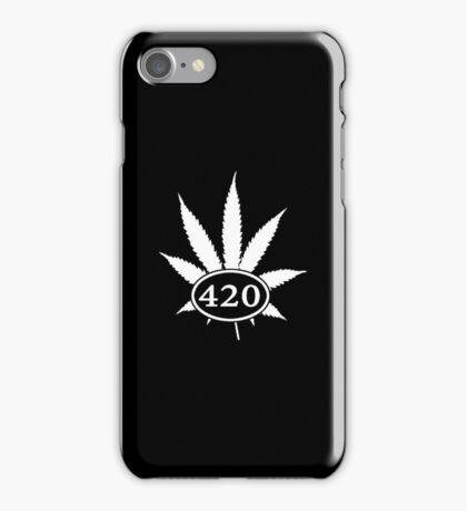 Black & White-420 iPhone Case/Skin