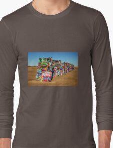 Cadillac Ranch  Long Sleeve T-Shirt