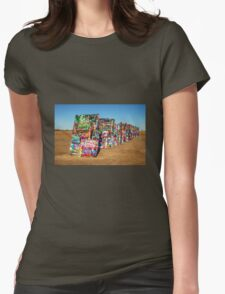 Cadillac Ranch  Womens Fitted T-Shirt