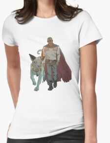 The Will and Lying Cat Womens Fitted T-Shirt