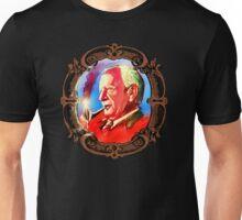 J. R. R. Tolkien Portrait with Orodruin Pipe Unisex T-Shirt