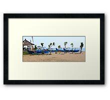 Kuta Fishing Framed Print