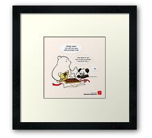 Successful Negotiation Framed Print