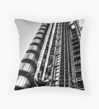 Lloyds Building, London Throw Pillow