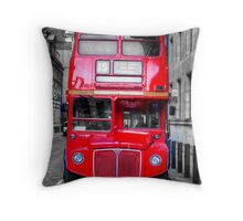 London Routemaster Throw Pillow
