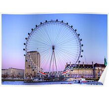 The London Eye, London Poster