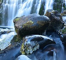 Middle McCloud Falls VI by Tracy Jones