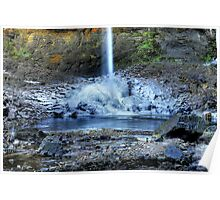 Hardraw Waterfall Poster