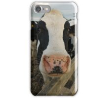 Moo cow iPhone Case/Skin