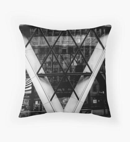 London Gherkin Throw Pillow