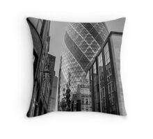 London Gherkin, London Throw Pillow