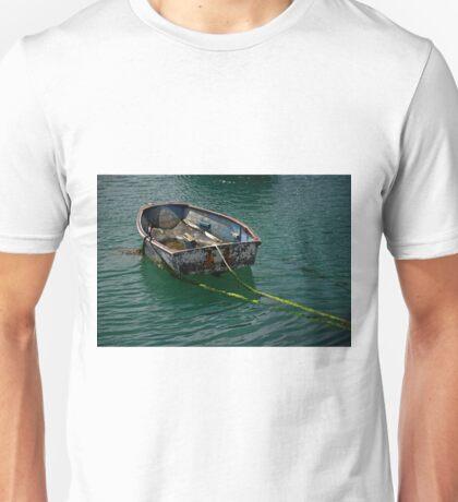 Old Dinghy, Penzance Harbour Unisex T-Shirt