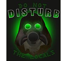 Do Not Disturb The Locals Photographic Print