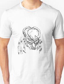 Predator white and black T-Shirt