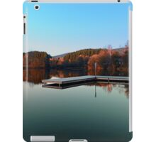 Romantic evening at the lake III | waterscape photography iPad Case/Skin